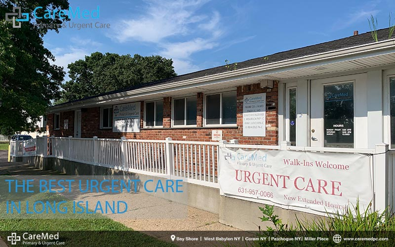 LIST OF URGENT CARE CENTERS IN LONG ISLAND