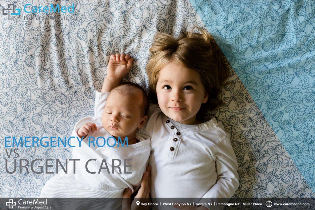 Pediatric urgent care vs emergency room for children