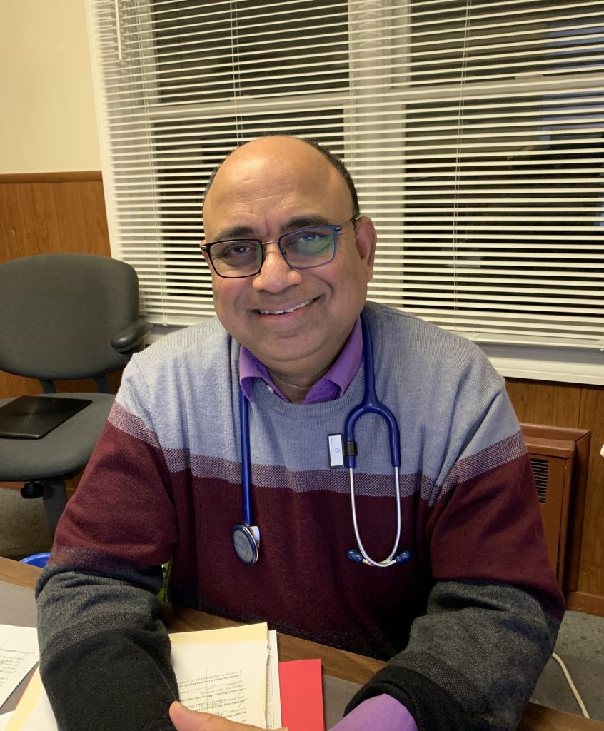 Dr. Fazal G. Faroqui in Caremed urgent and primary care patchogue and bay shore