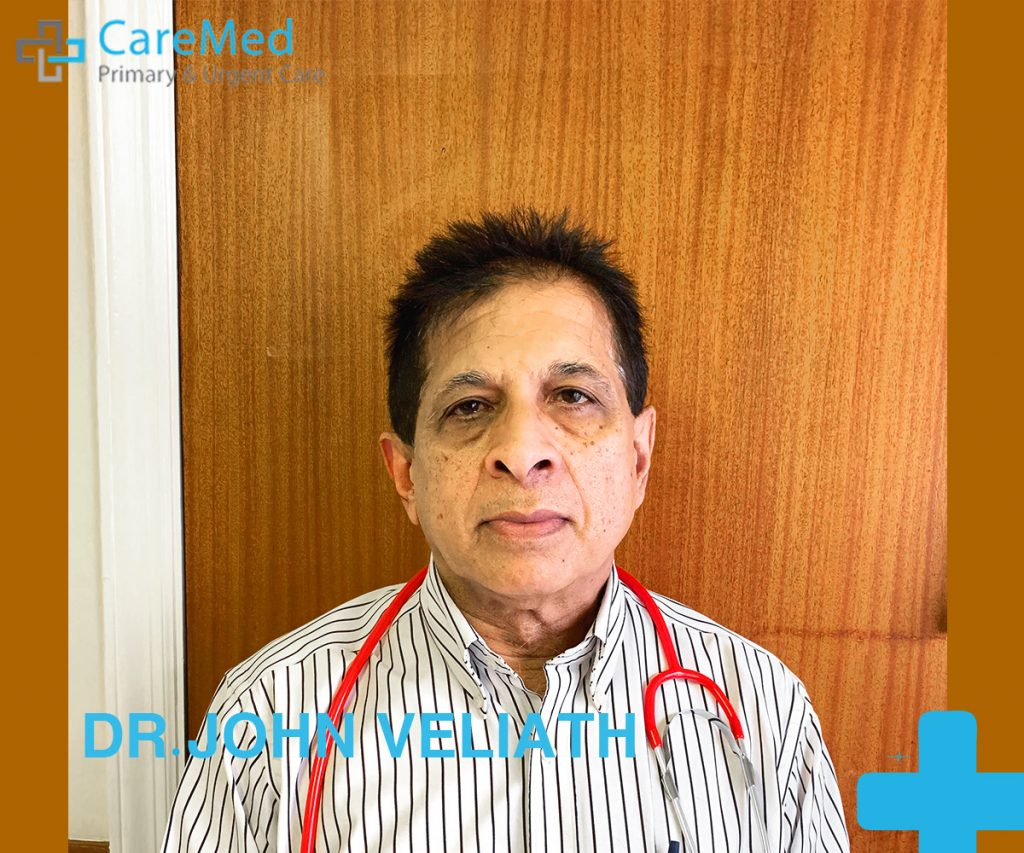 Image of the best doctor in Riverhead, Dr john veliath