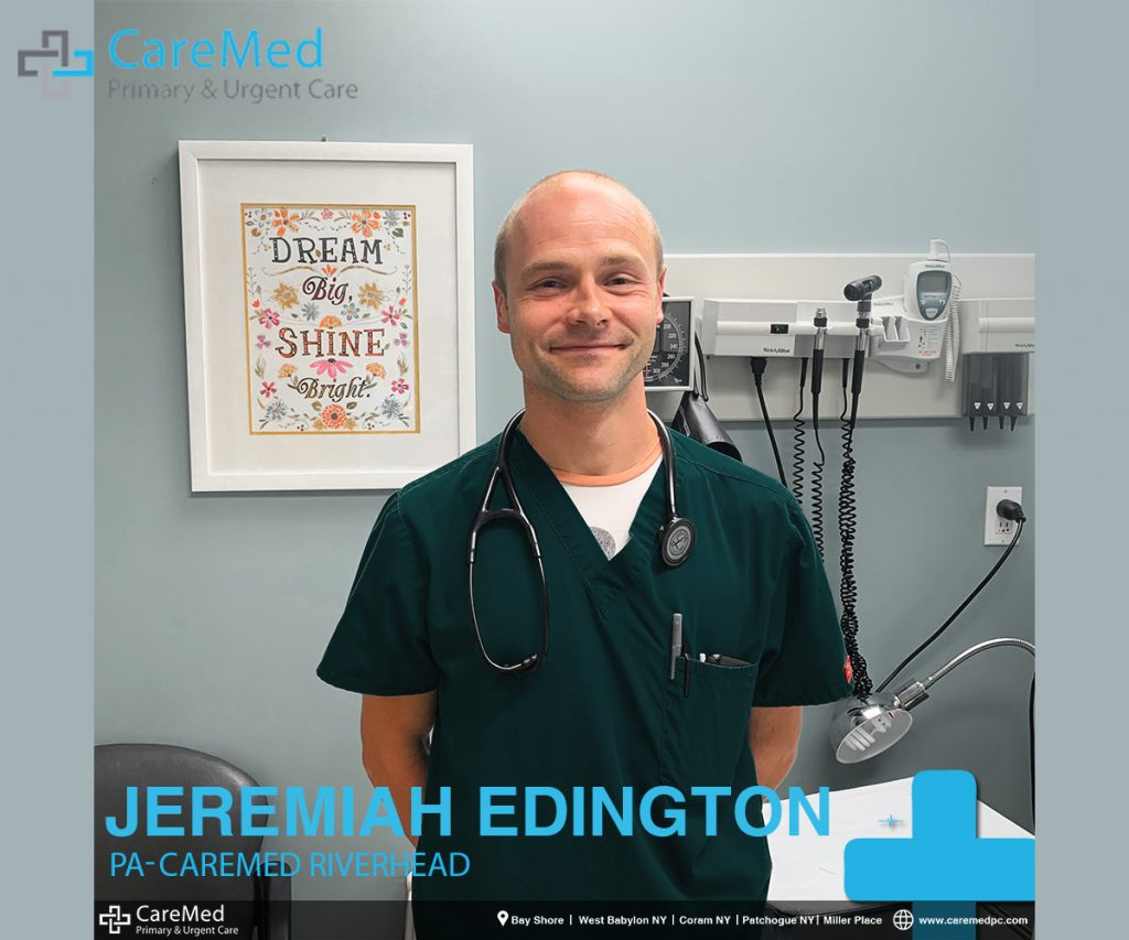 Jeremiah edington is the best PA in Riverhead. Image of Jeremiah Edington