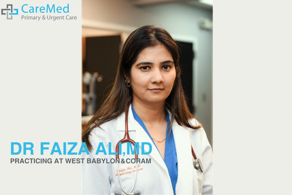 Photo of Dr Faiza Ali, the best doctor in west babylon and coram.