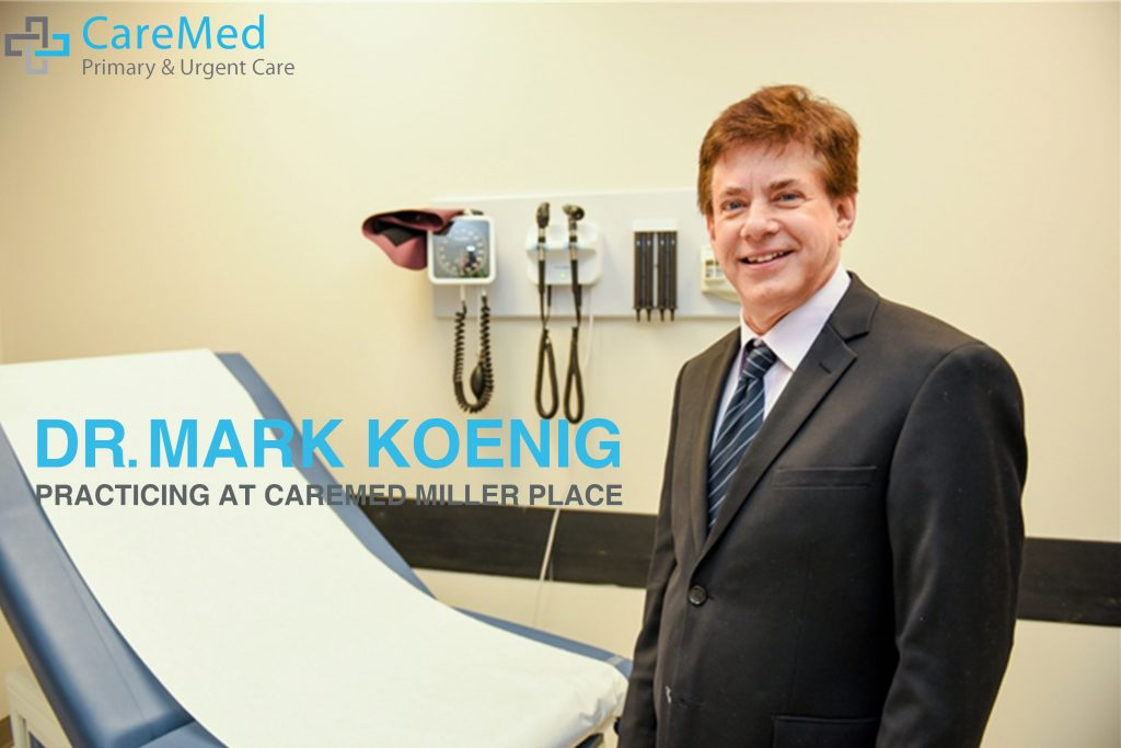 The image of Dr Mark Koenig who is an family medicine doctor at caremed miller place