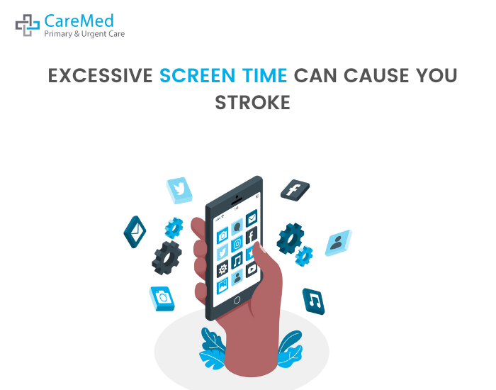 can screen time and mobile use cause stroke?