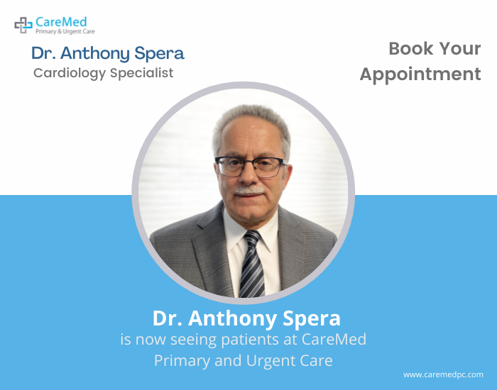 dr anthony spera is one of the best cardiologist in middle island.